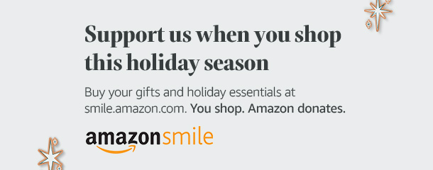 Support us through Amazon Smile