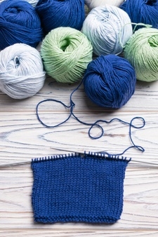 NEW KNITTING TIME Mondays, 2 PM beginning in 2020